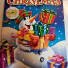 Snowman cover Christmas jumbo coloring and activity book