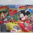 Disney Mickey and The Roadster Racers Workbooks Alphabet Numbers & Counting