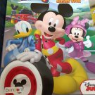 Mickey & the Roadmasters Jumbo Coloring & Activity Book