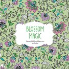 Blossom Magic: Beautiful Floral Patterns Coloring Book for Adults (Color Magic)
