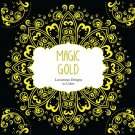 Magic Gold: Luxurious Designs to Color (Color Magic)