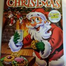 Santa Cover Christmas Jumbo Coloring Activity book includes 4 free song downloads