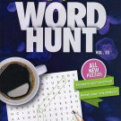 Large Print Word Hunt - All New Puzzles - (2017) - Vol.33
