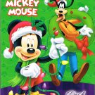 Disney Mickey Mouse and Goofy Xmas Coloring Book Deck The Halls