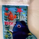 """Disney Finding Nemo and Dory 18""""Disney Finding Nemo and Dory 18"""" Christmas Stocking with Plush Cuff"""
