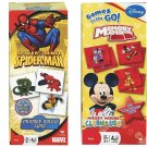 1 X Marvel Spiderman Memory Match Game + Disney Mickey Mouse Clubhouse Memory Match Game