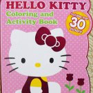 Hello Kitty Shaped Coloring Book by Constructive Playthings