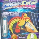 Magna Color Creative Magic Jungle Adventure Refill 8 Stencils Tool & Dots