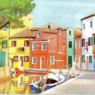 Burano Colorful Houses - 300 Piece Jigsaw Puzzle