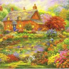 Summer Cottage - 300 Piece Jigsaw Puzzle