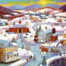 Winter Sunset - 300 Piece Jigsaw Puzzle