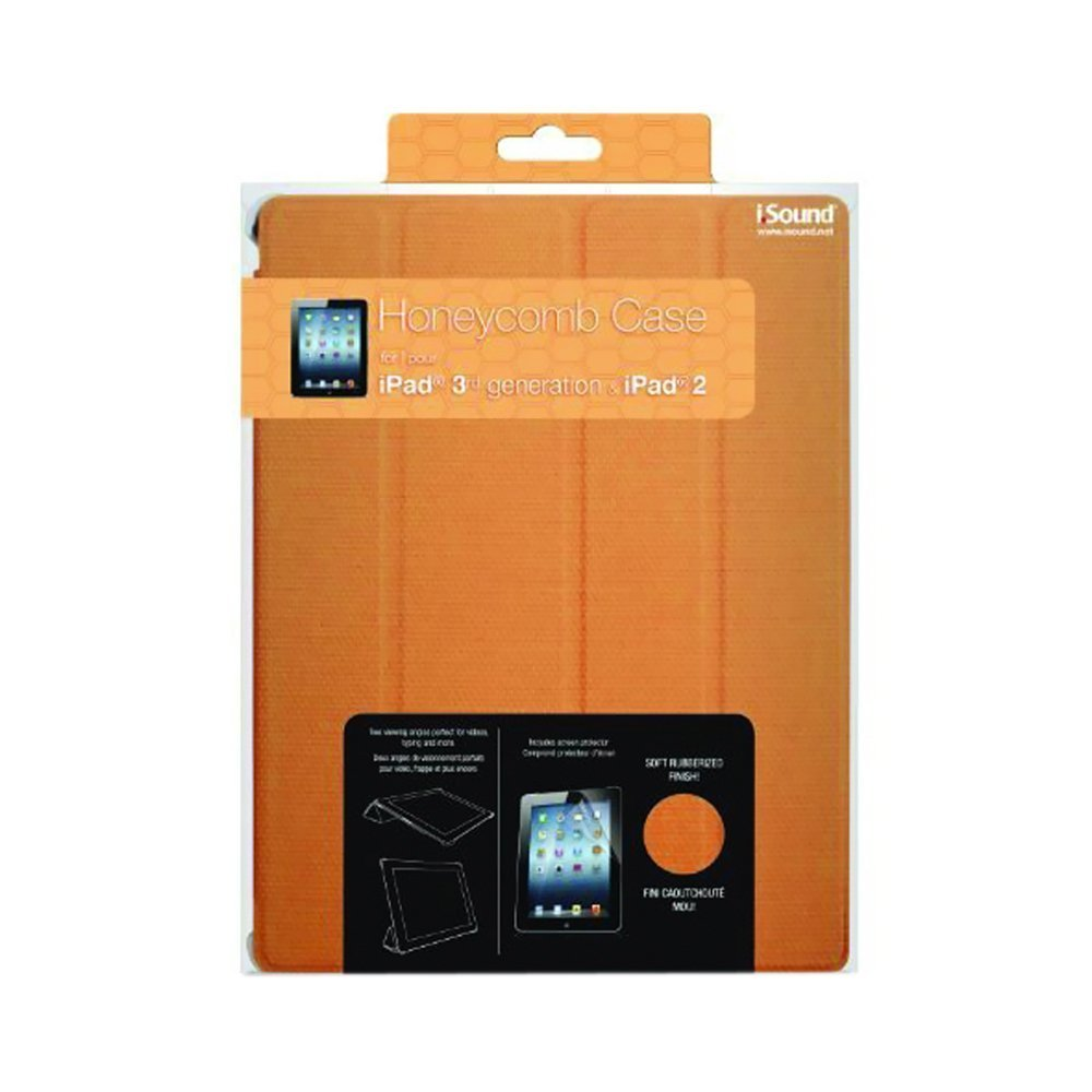 dreamGEAR Honeycomb Carrying Case for iPad - Orange ISOUND-4729