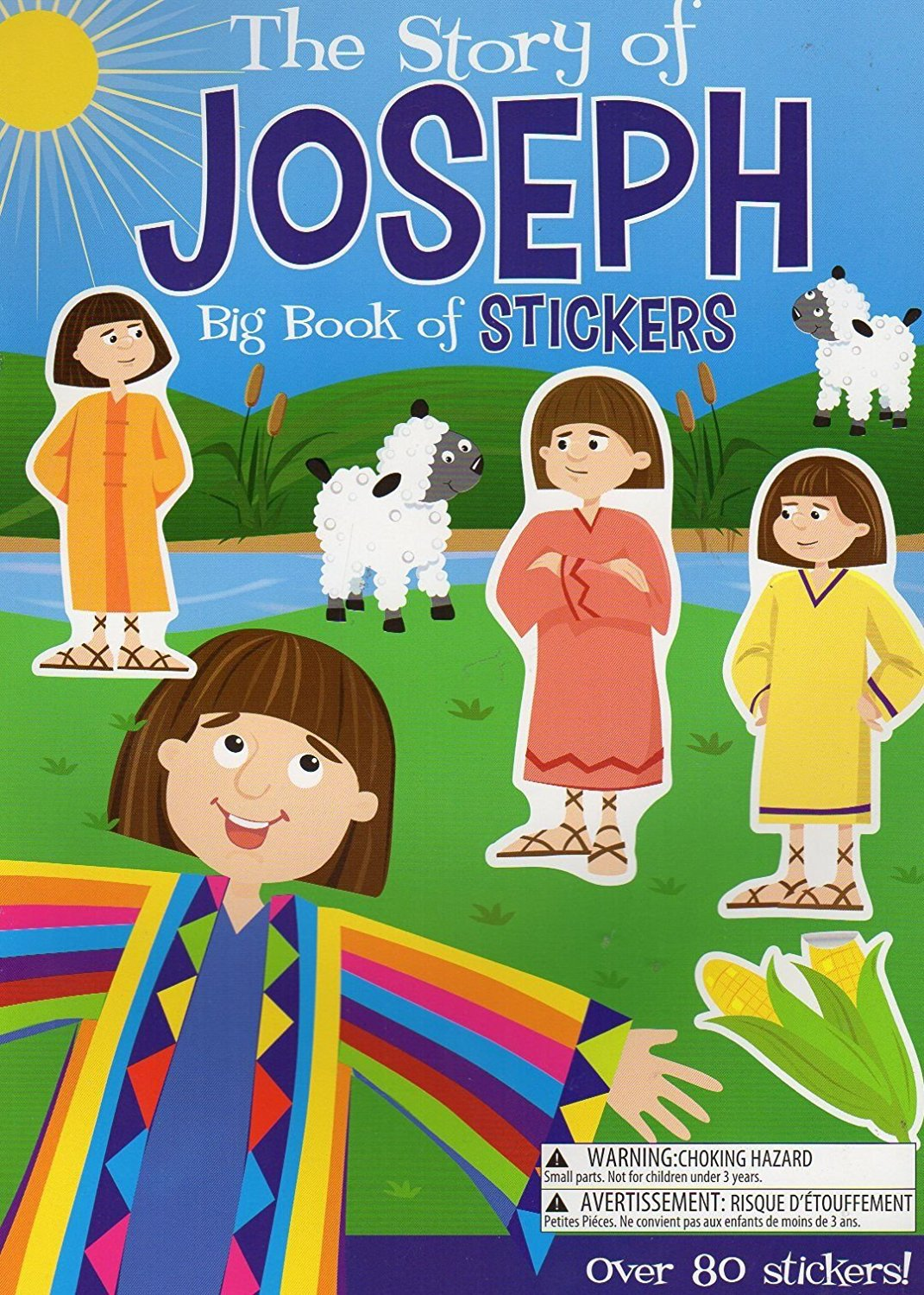 The Story of Mary & Joseph Big Book of Stickers