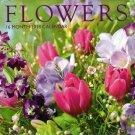 Flowers - 16 Month 2018 Wall Calendar Planner Organizer