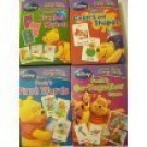 Disney Learning I Can Learn With Pooh Flash Cards by Disney (set of 4)