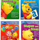 I Can Learn with Pooh Early Skills 4-Workbook Set