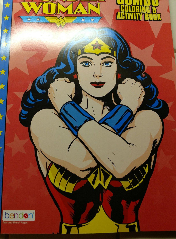 Wonder Woman Jumbo Coloring & Activity Book