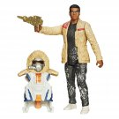 Star Wars The Force Awakens 3.75-Inch Figure Snow Mission Armor Finn (Starkiller Base) (eb 001-2)