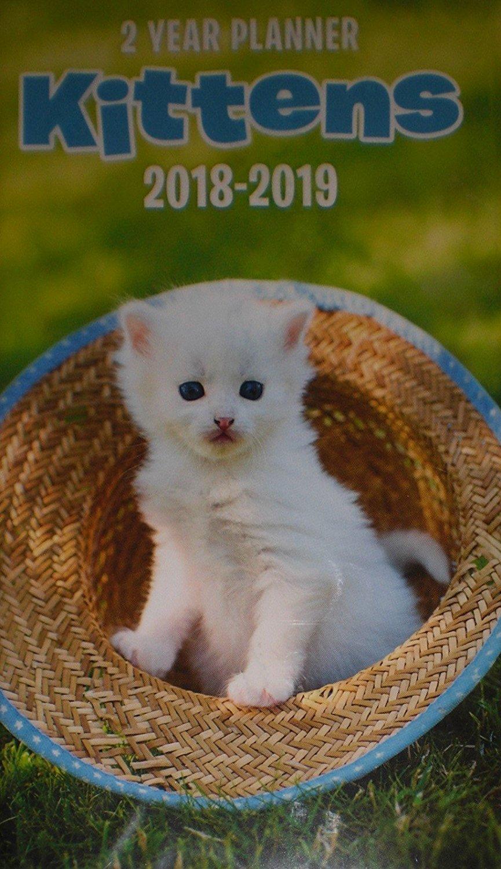 Kittens 2018-2019 2 Year Pocket Planner