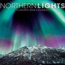 Northern Lights 2018 Premium Wall Calendar (16-month)