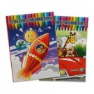 2 Pack Assorted Color By Numbers Coloring Books by 4 Season