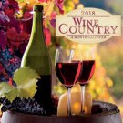 Wine Country 2018 Wall Calendar (16-month)