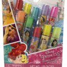 Disney Princess Flavored 10 Pack Roll-on Lip Glosses (Disney Princess Lip Gloss 10 Pack)