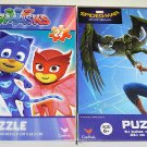 SpiderMan Homecoming and PJMasks Jigsaw Puzzle 24pieces