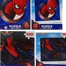 Homecoming Spiderman Puzzle 2 Piece Bundle Set (100 Piece Each)