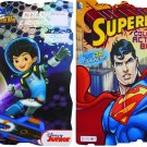 Superman & Miles From Tomorrow Land Coloring & Activity Book w/ Over 30 Stickers!
