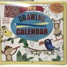 Drawing 16 month 2018 Calendar