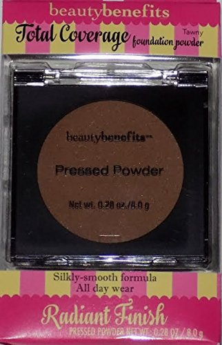 Beauty Benefits Total Coverage Foundation Powder, Tawny