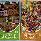 Cardinal Vibrant Colored 500PC Jigsaw Puzzle 2Pack