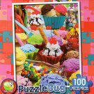 Ice Cream Parlor - PuzzleBug - 100 Piece Jigsaw Puzzle - v2