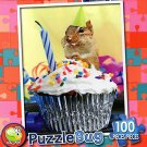 Chippy's Birthday Cupcake - PuzzleBug - 100 Piece Jigsaw Puzzle - v2