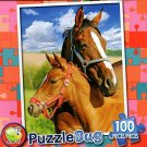 Mare and Foal - PuzzleBug - 100 Piece Jigsaw Puzzle