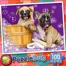 Bath time Buddies - PuzzleBug - 100 Piece Jigsaw Puzzle