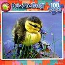 Newborn Duckling - PuzzleBug - 100 Piece Jigsaw Puzzle