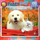 Besties - PuzzleBug - 100 Piece Jigsaw Puzzle