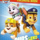 Paw Patrol Coloring and Activity - Pups Lend a Paw!