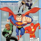 Justice League Unlimited Coloring & Activity Book (Includes Stickers)