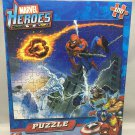 "Marvel Heroes Puzzle - 100 Pieces - 10"" X 9 "" - Spider-Man"