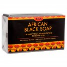 African Black Soap 7oz for Acne, Eczema, Dry Skin, Psoriasis, Scar Removal, Face & Body Wash