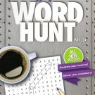 Large Print Word Hunt - All New Puzzles - (2017) - Vol.37