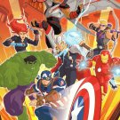 Marvel Avengers Assemble Jumbo Coloring and Activity Book - Assemble