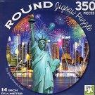 New York - 350 Piece Round Jigsaw Art Puzzle