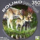 Reflections - 350 Piece Round Jigsaw Art Puzzle