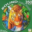 Tiger Pool - 350 Piece Round Jigsaw Art Puzzle