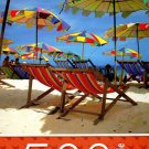 Colorful Beach Umbrellas - 500 Piece Jigsaw Puzzle