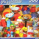 Colorful Pottery & Ceramics - 500 Piece Jigsaw Puzzle - Puzzlebug - p 004